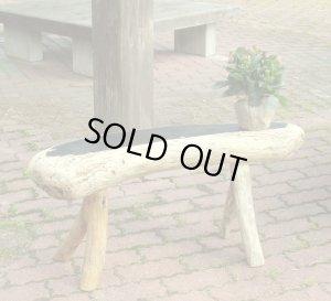 画像2: ガーデンベンチ型飾り台