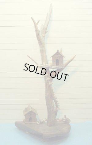 画像2: 流木ツリーハウスオブジェ  スタンド