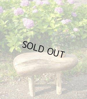 画像1: ガーデン椅子型飾り台