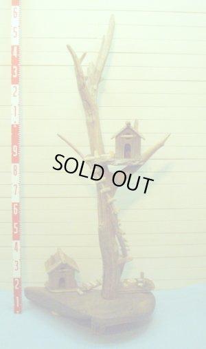 画像5: 流木ツリーハウスオブジェ  スタンド